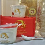 air sealed ceramic bowl and spoon gift set